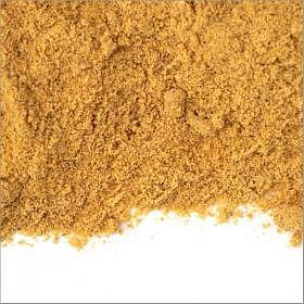 Senfmehl aus Gelbsenf, teilentölt