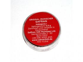Safran - 0.5g (Sargol Safran)
